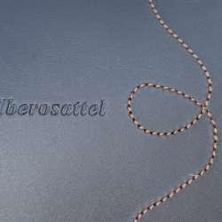 Ibero Amazona Classic - hübsche Ziernaht am Sattelblatt