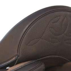 Amazona Dressage Comfort 3000 - Efter und Nahtbild mokka