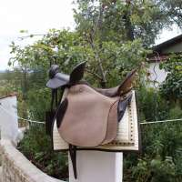 Doppelsattel Pferd von Iberosattel