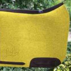Filzschabracke gelb