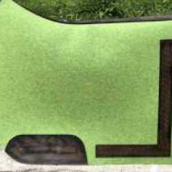 Filzschbracke grün