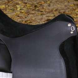 Sitz und Pausche Wildleder schwarz