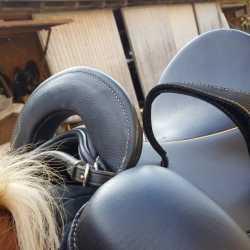 Sattel für Menschen mit Handicap