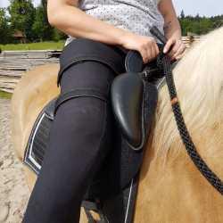 Paardenzadel voor mensen met een handicap