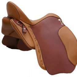 Dressage Andaluz - Farbbeispiel cognac / london