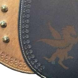 Punzierung, ,Standardniete Nr. 4 mit Laserung Pegasus