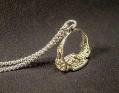 Miniatur Steigbügel IBERO - 925 Sterling Silber