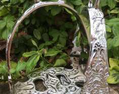 Steigbügel - JIN Prunksteigbügel in silber