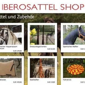 Gute Nachrichten für Ibero-Fans: neuer Online-Shop mit Premium-Reitzubehör