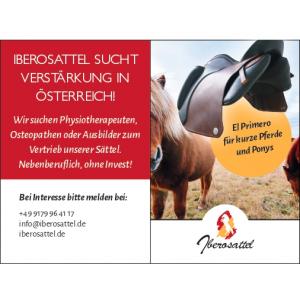 Iberosattel sucht Verstärkung in Österreich!