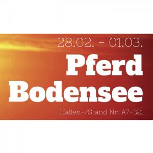 Iberosattel auf der Pferd Bodensee 2020