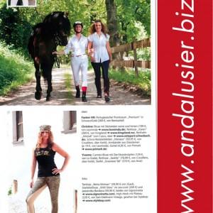 Vom Catwalk zum Horsewalk: temperamentvolle Pferde, schöne Frauen, schicke Outfits
