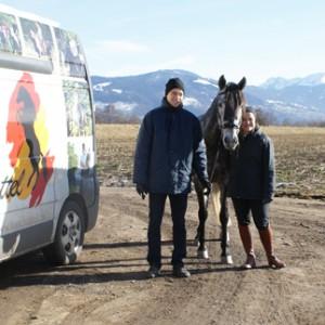 Gewinnspiel : Karin und Fabuloso freuen sich über ihren neuen Ibero Barock