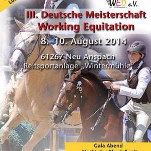 Iberosattel sponsort die III. Deutsche Meisterschaft Working Equitation