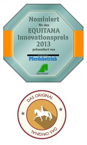 Genomineerd voor de EQUITANA Innovation Award: De Comfort Compact editie voor korte paardenruggen.
